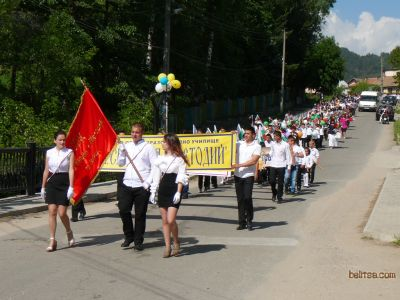 Празничното шествие през 2015г.