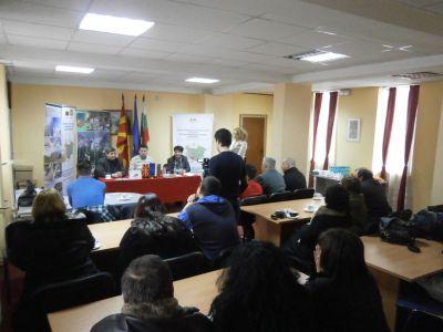 Заключителна пресконференция на Проект 'Изготвяне на предпроектни проучвания за развитие на ски туризма в планинските райони на Белица, България и Македонска Каменица, Македония